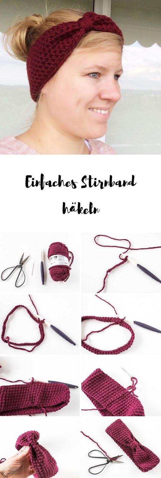 Häkeln Anleitung: Stirnband häkeln für Anfänger mit Video-Anleitung | Gehäkeltes Stirnband für den Winter - ein tolles DIY Geschenk zu Weihnachten | ars textura - DIY Blog