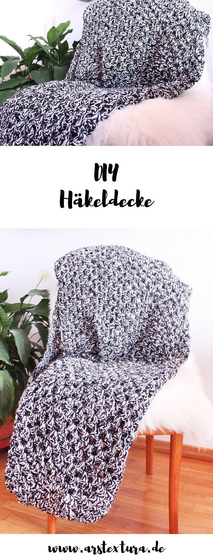 Häkeldecke - DIY Decke selber häkeln