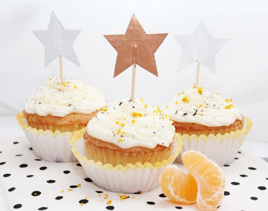 Orangen Vanille Cupcakes