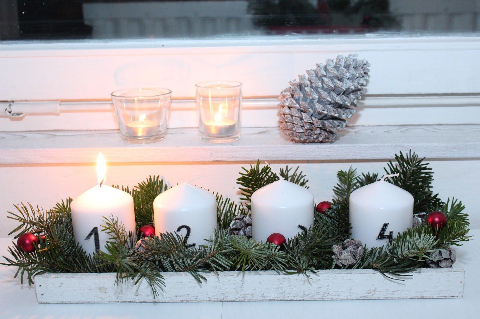 Advent, Advent, das erste Lichtlein brennt…