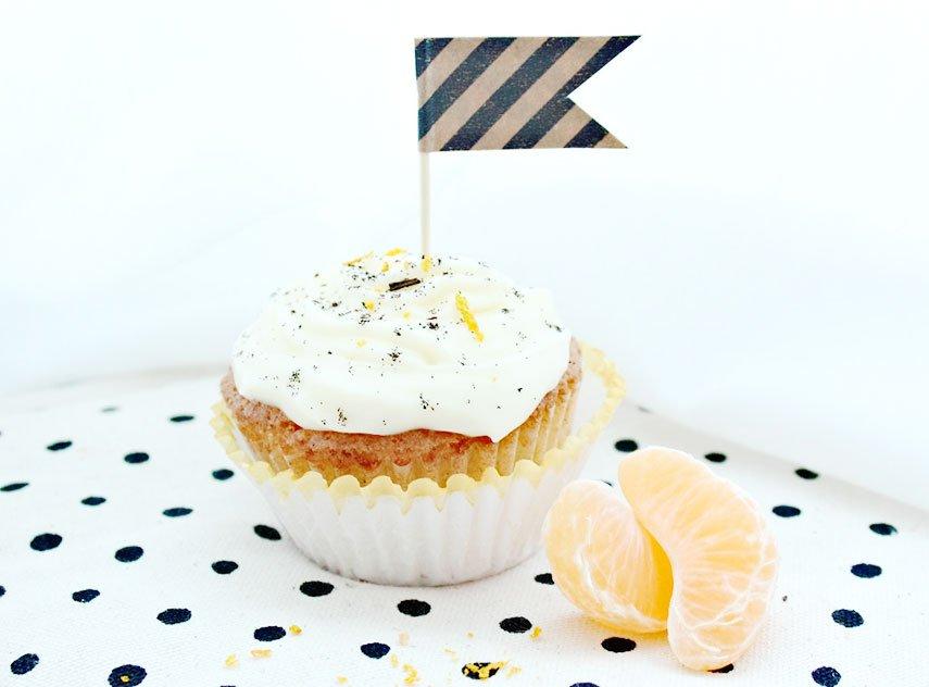 Orange-Vanille Cupcakes - perfekt für den Winter und die Weihnachtszeit