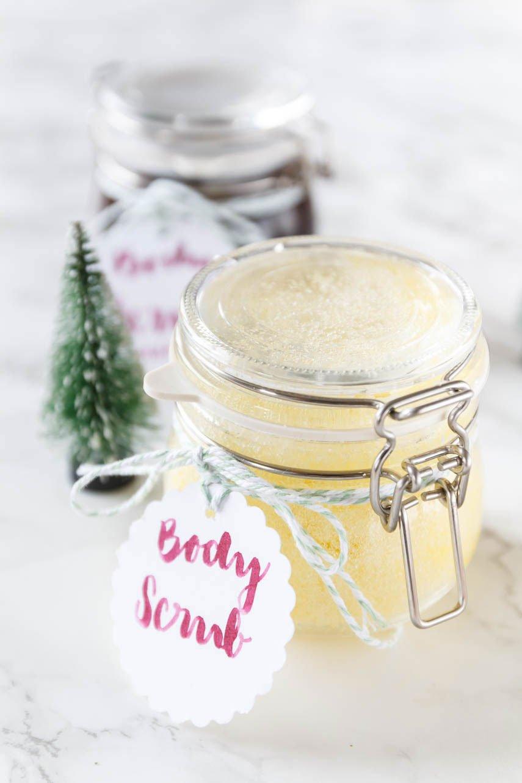 DIY Peeling - Body Scrub selber machen - ein tolles DIY Geschenk