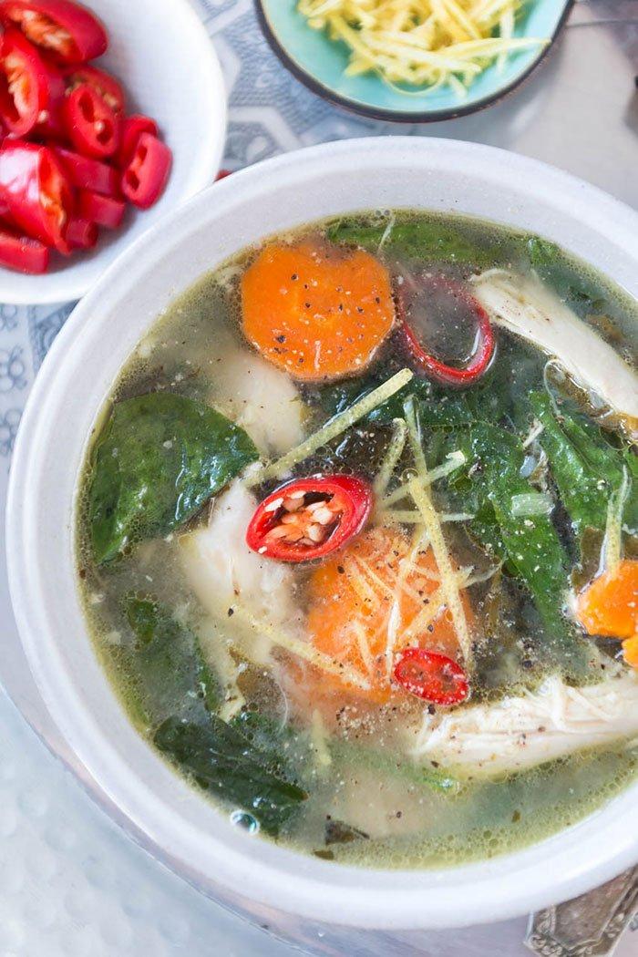 Rezept Orientalische Hühnersuppe - perfekt für den Winter