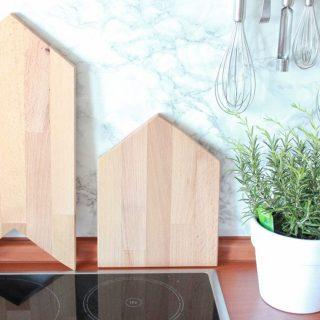 DIY Haus Schneidebrettchen