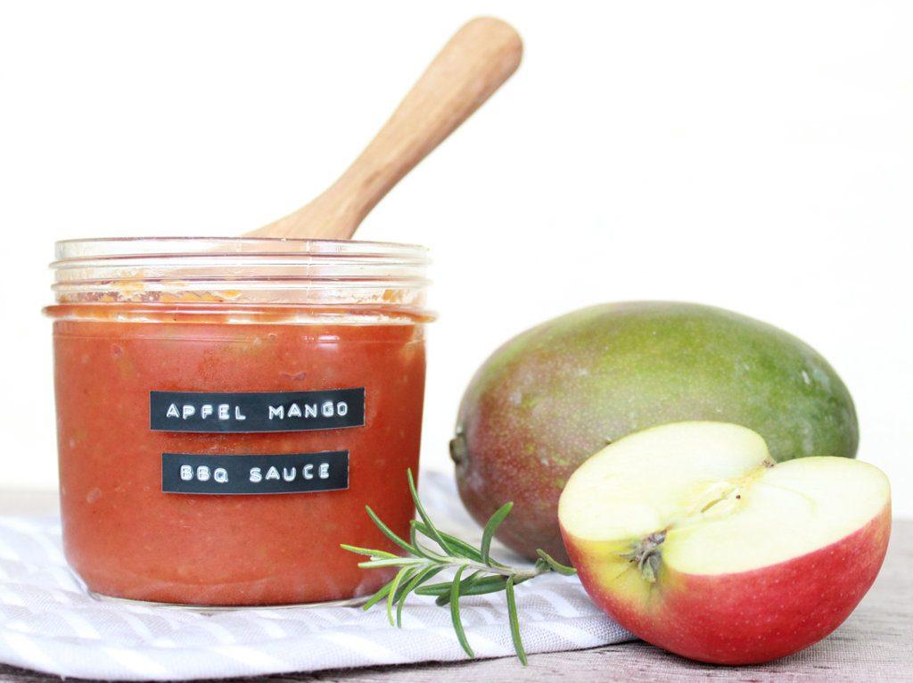 Rezept Apfel-Mango Barbecue Sauce