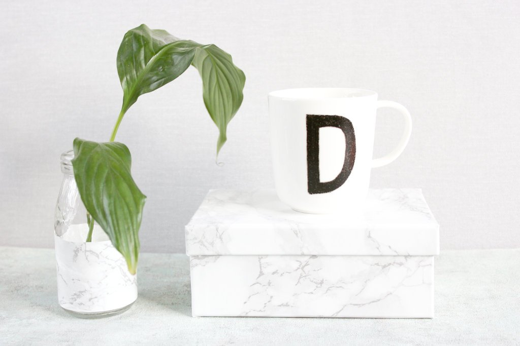 Marmorfolie…endlich mal wieder ein DIY