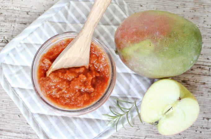 Apfel-Mango Barbecue Sauce … auf in die Grillsaison