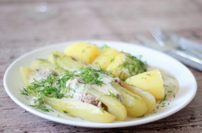 Schmorgurken… ein Gericht aus meiner Kindheit