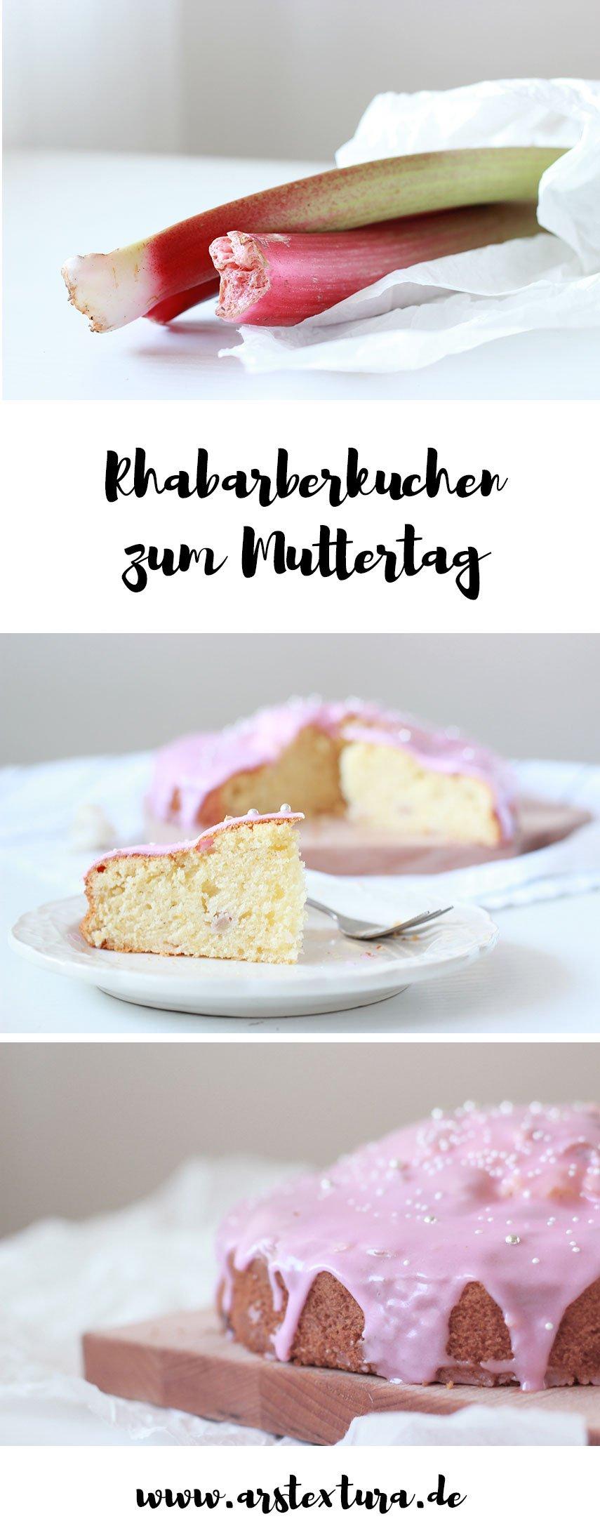 Rhabarberkuchen zum Muttertag