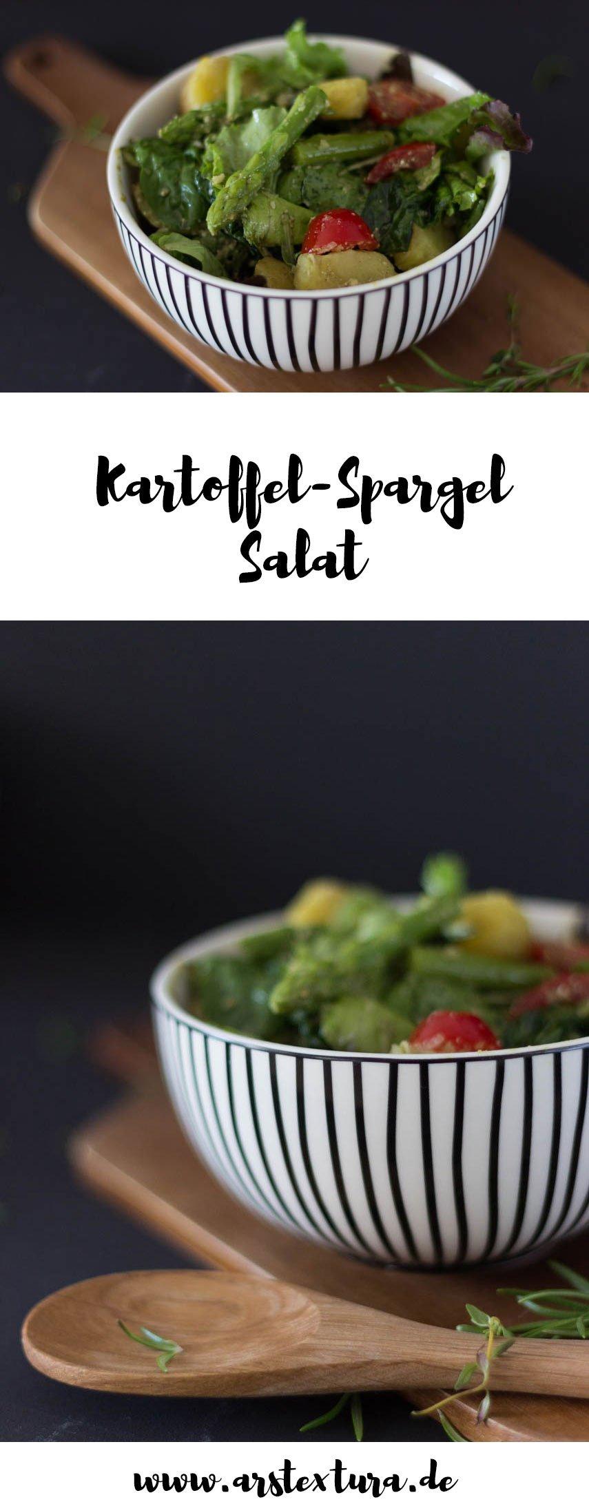 Kartoffel-Spargel-Salat perfekt für die Grillparty