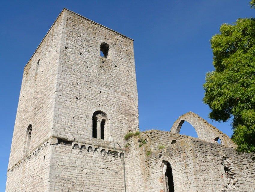 Kirchenruinen in Visby