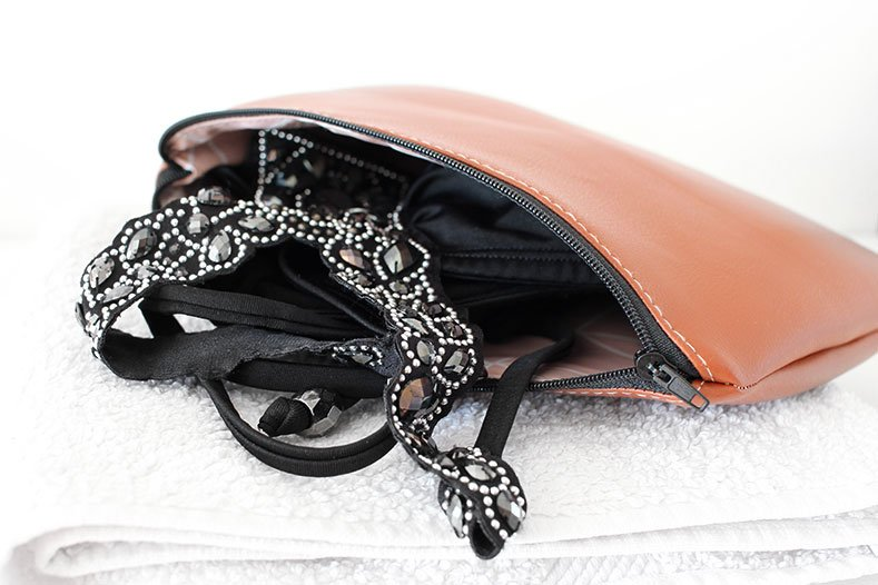 DIY Bikini Bag nähen