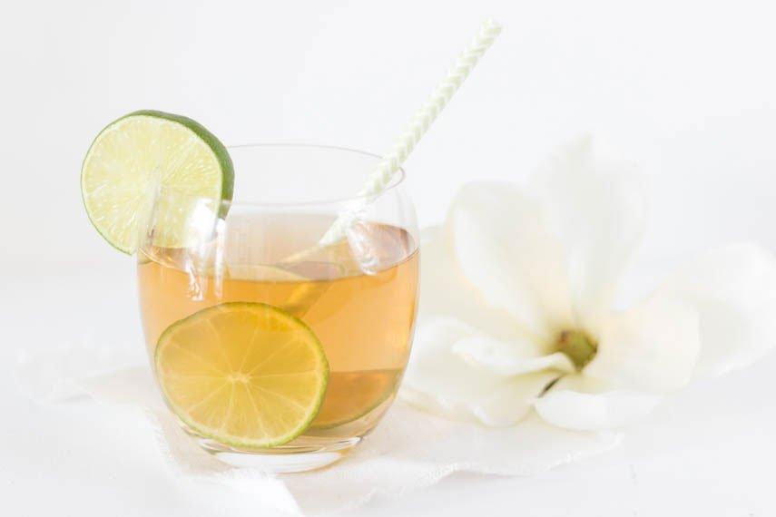 Zitronengras Eistee - der ideale Drink für den Sommer