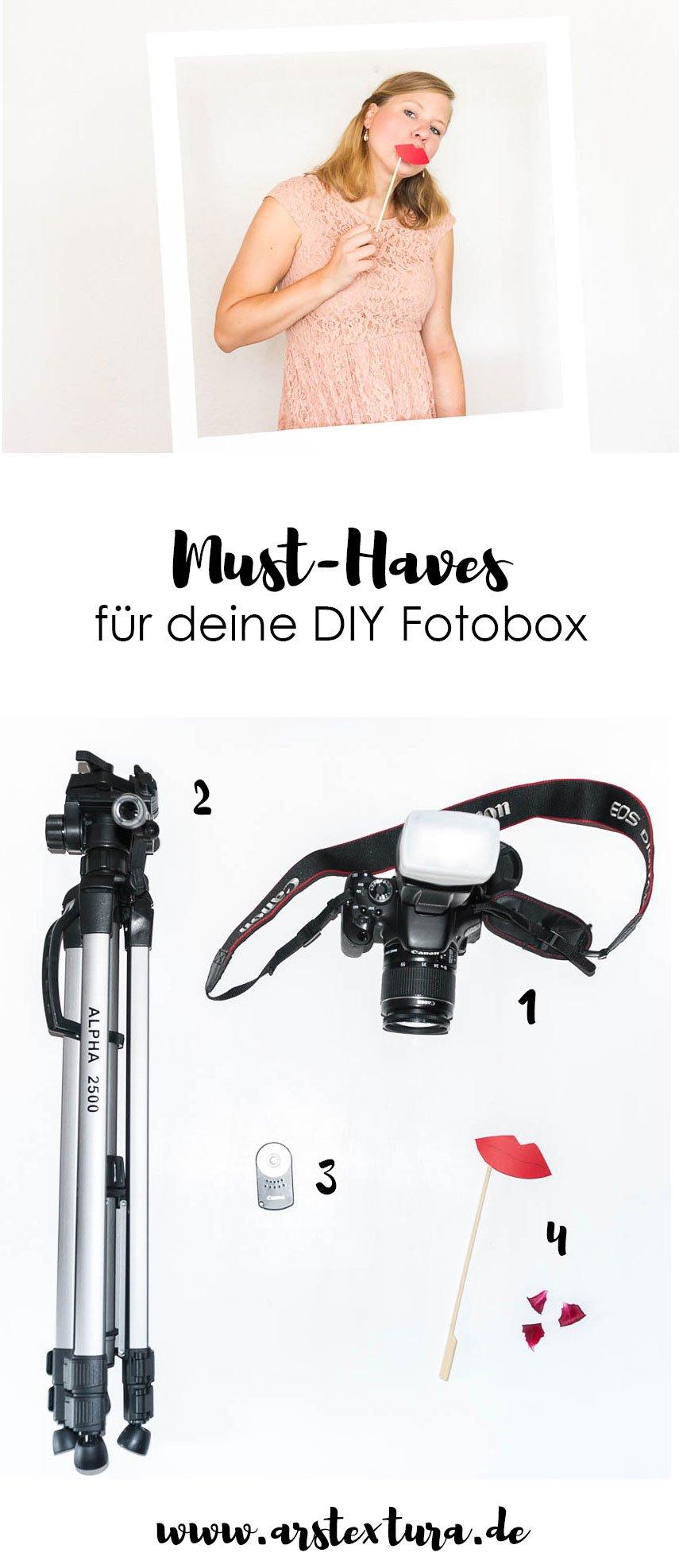 DIY Fotobox für deine Hochzeit - DIY Ideen und Zubehör