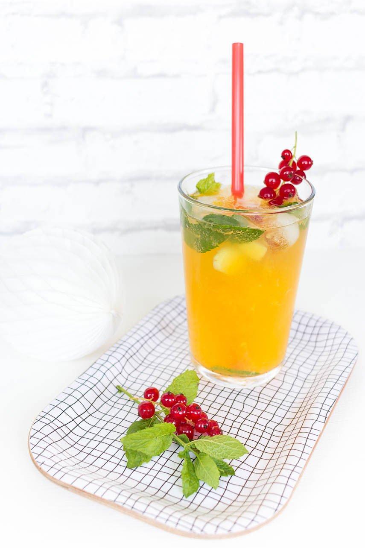 Orangen Ingwer Limonade - alkoholfreier Drink für den Sommer