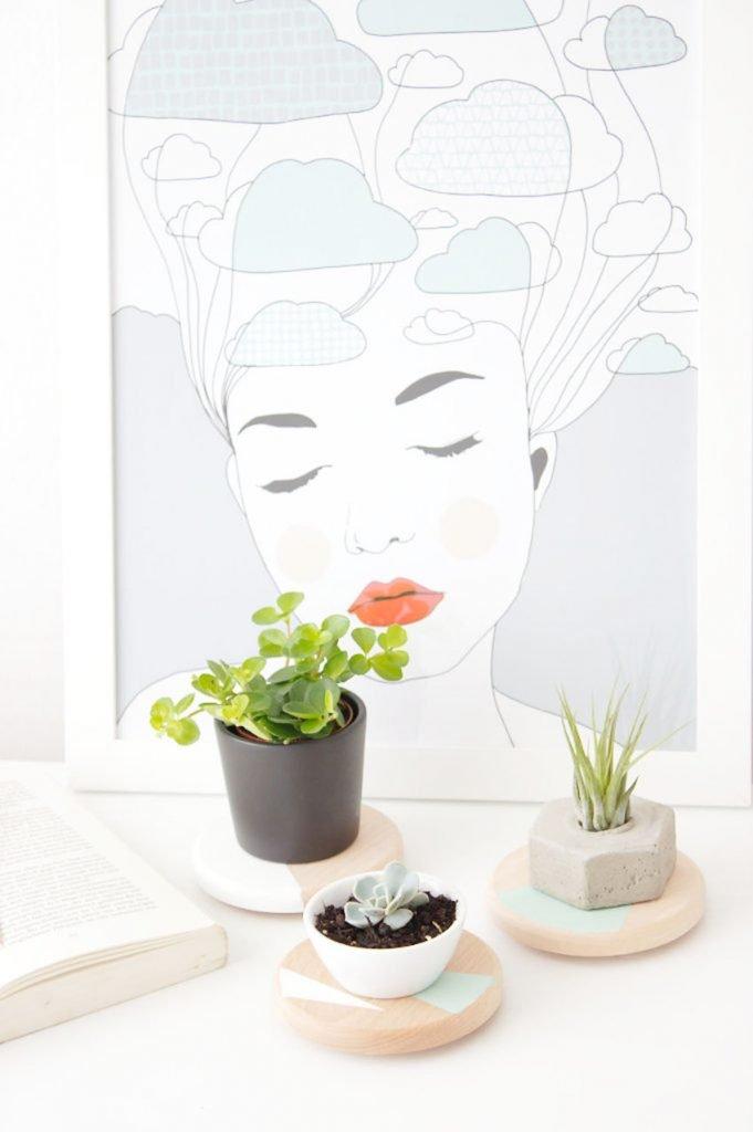 Kunst und Pflanzen
