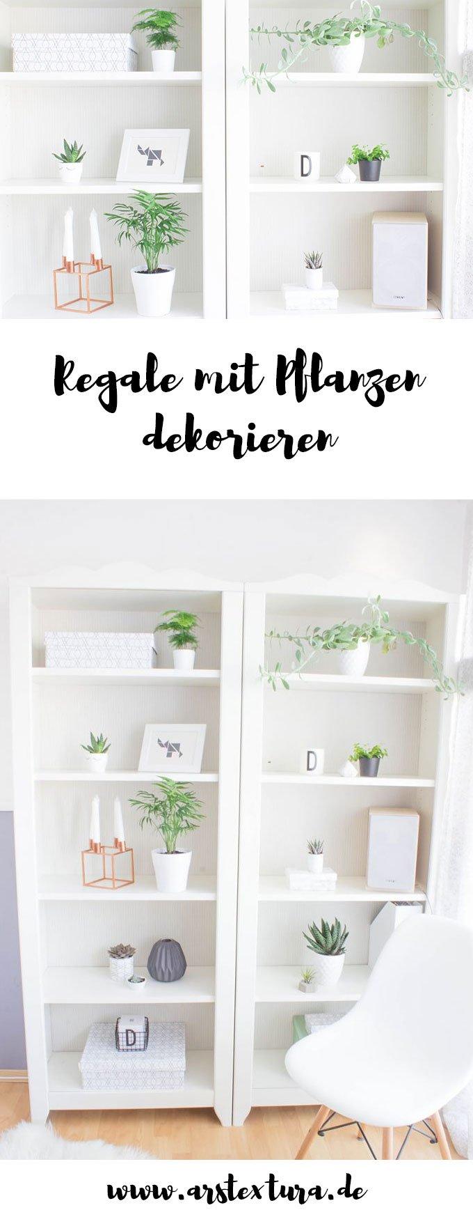 Regale mit Pflanzen dekorieren - Urban Jungle Bloggers