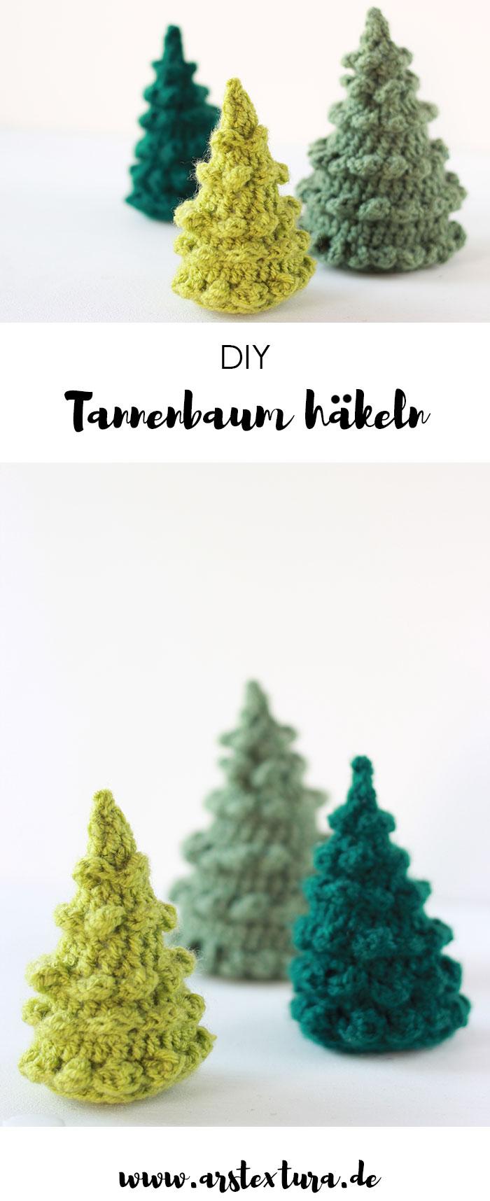12 Tannenbäumchen Häkeln Ars Textura Diy Blog