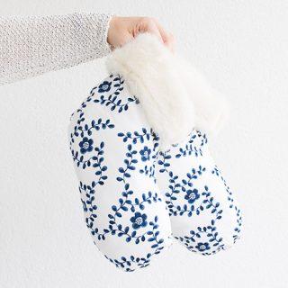 DIY Geschenk: Bettsocken nähen mit Anleitung - nie wieder kalte Füße