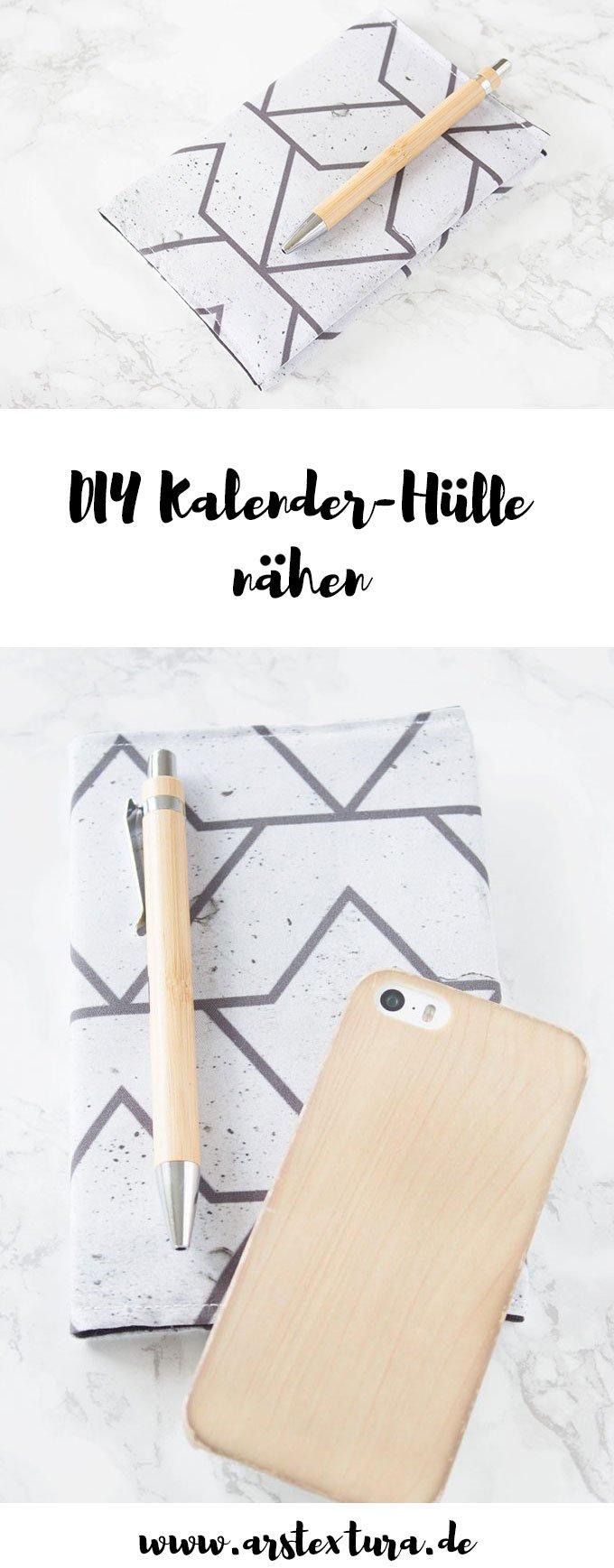 DIY Geschenk | Kalender Hülle nähen mit Anleitung