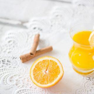 Limo Orangenlimo