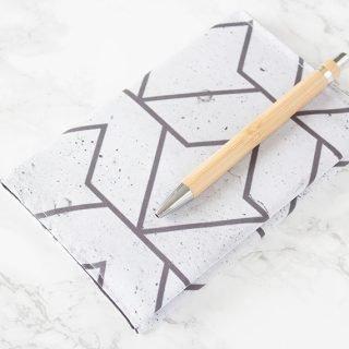 DIY Idee - Kalender Hülle nähen mit Anleitung