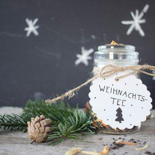 DIY Geschenk aus der Küche: Weihnachtstee