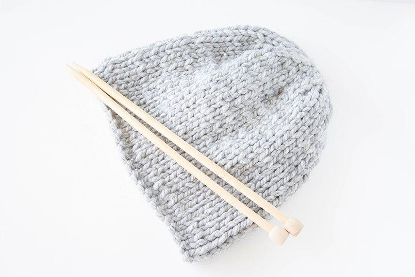 * 23 * Last Minute Geschenke – Super schnell eine Mütze stricken