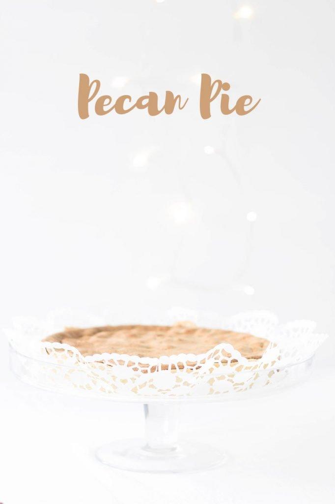 Weihnachtlicher Pecan Pie - der Perfekte Kuchen für die Feiertage