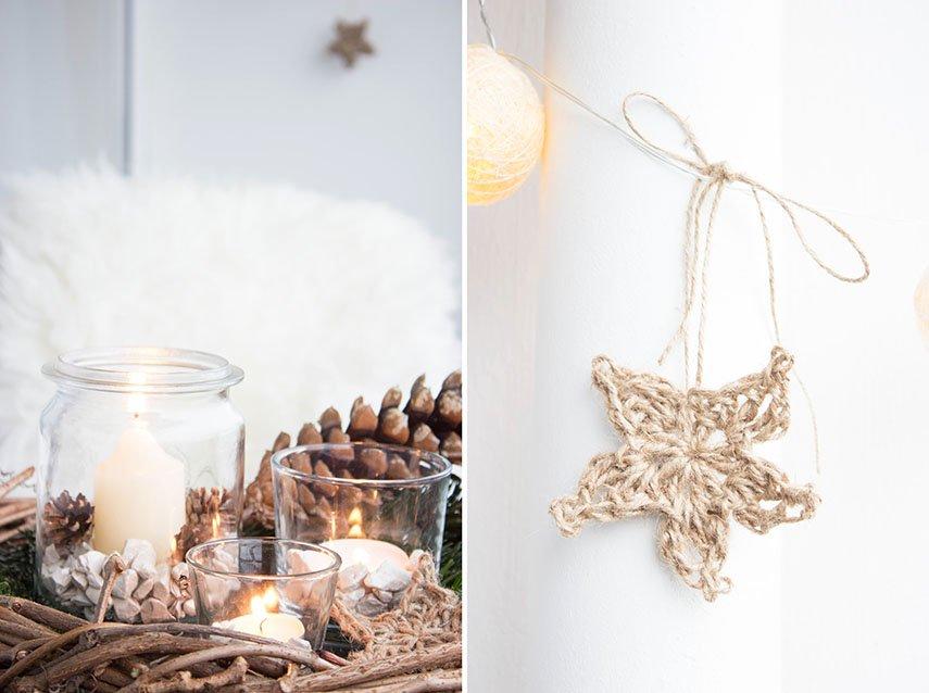 4 Rustikale Weihnachtsdeko Für Den Balkon Ars Textura Diy Blog