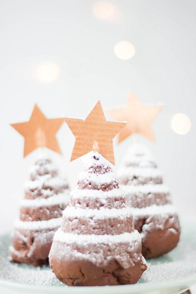Tannenbäume backen - perfekt für Weihnachten und einfach lecker