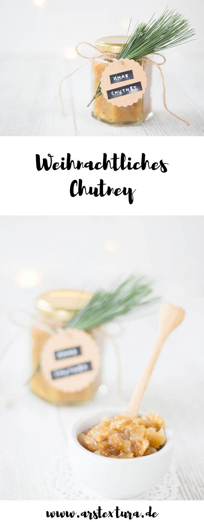 Weihnachtliches Chutney - ein tolles DIY Geschenk aus der Küche