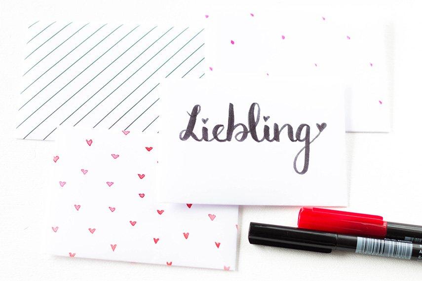 Briefumschläge selbst machen