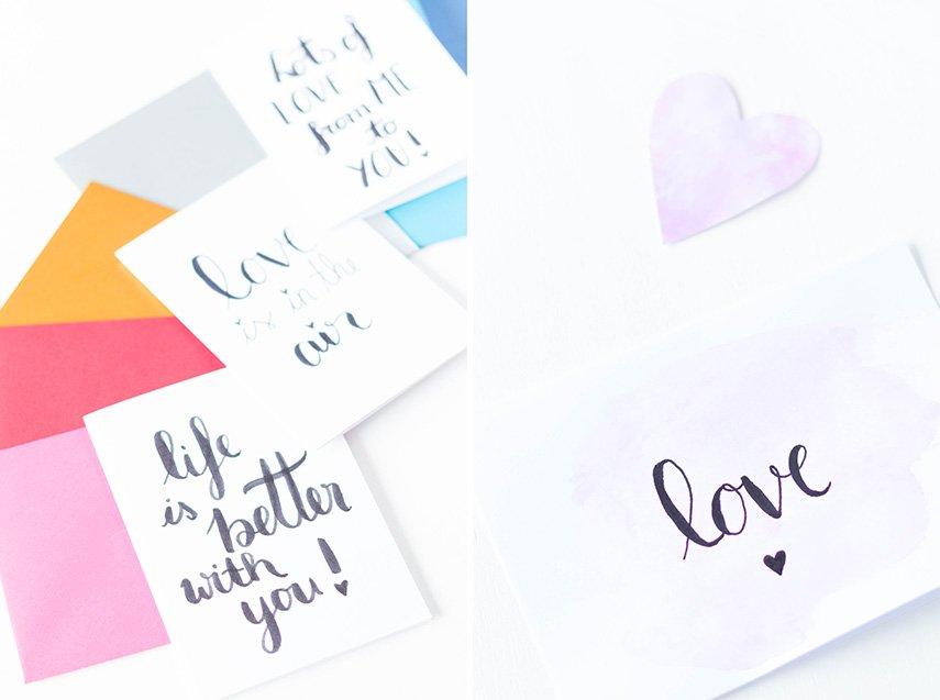DIY Valentinskarte