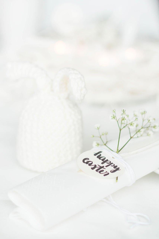 Osterhasen Eierwärmer und DIY Servietten