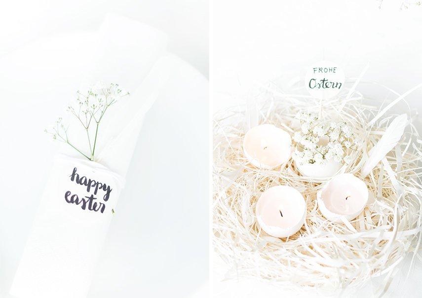 white easter decoration