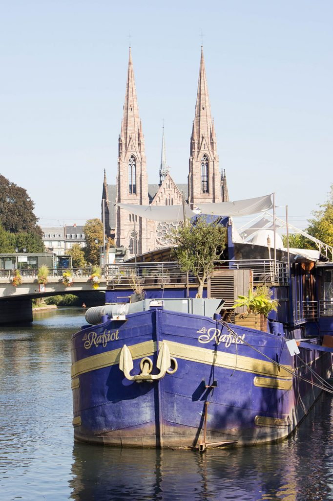 Restaurant Boote in Straßburg