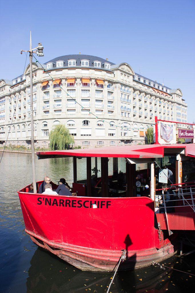 Quai des Bateliers in Straßburg