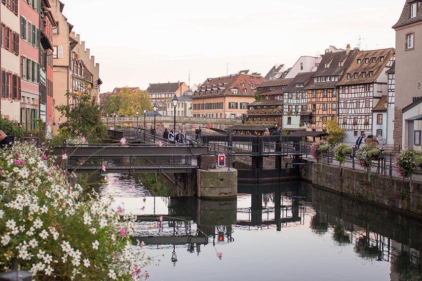 Wasser in Straßburg