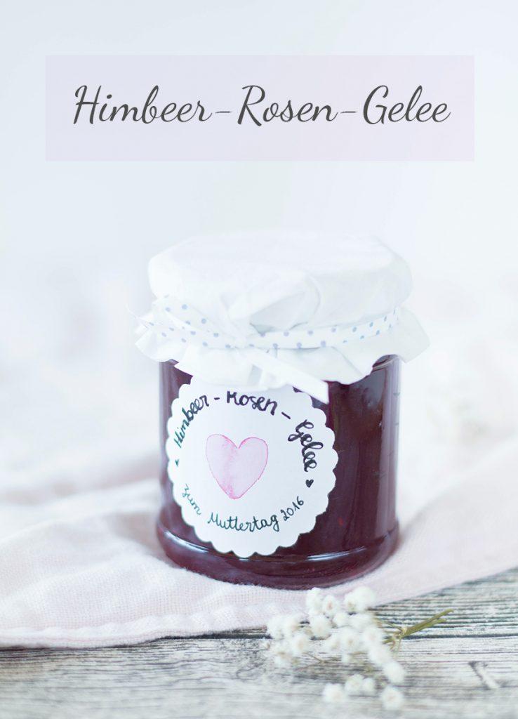 Geschenke aus der Küche: Himbeergelee