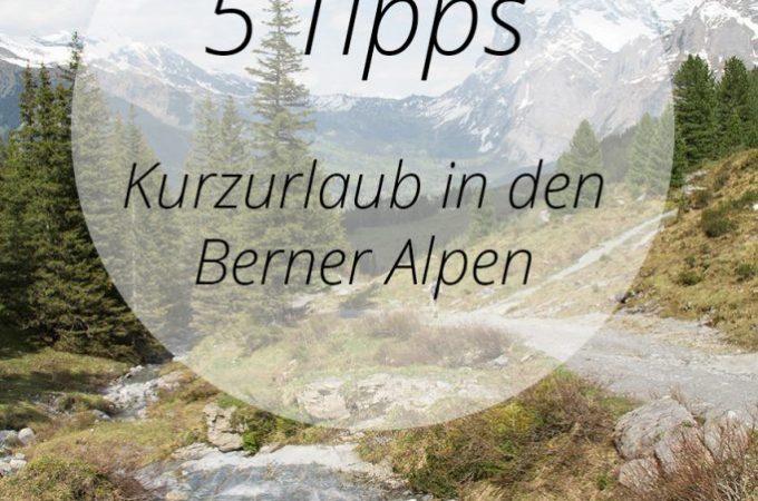 Kurzurlaub am Thunersee in den Berner Alpen