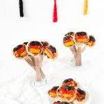 Pizza Pops in Deutschland Farben - der perfekte Snack für Ihre WM-Party | ars textura - DIY Blog