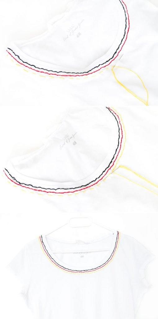 Deutschland T-Shirt EM selber machen