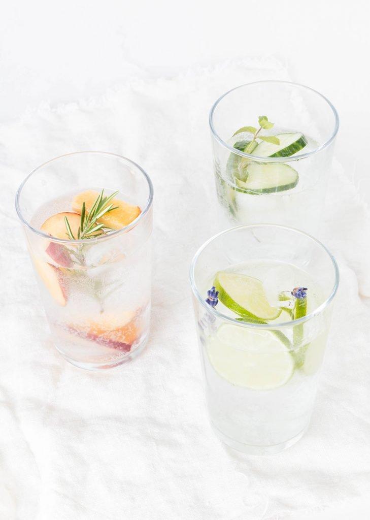 Infused Water - Wasser mit Geschmack ohne Kalorien