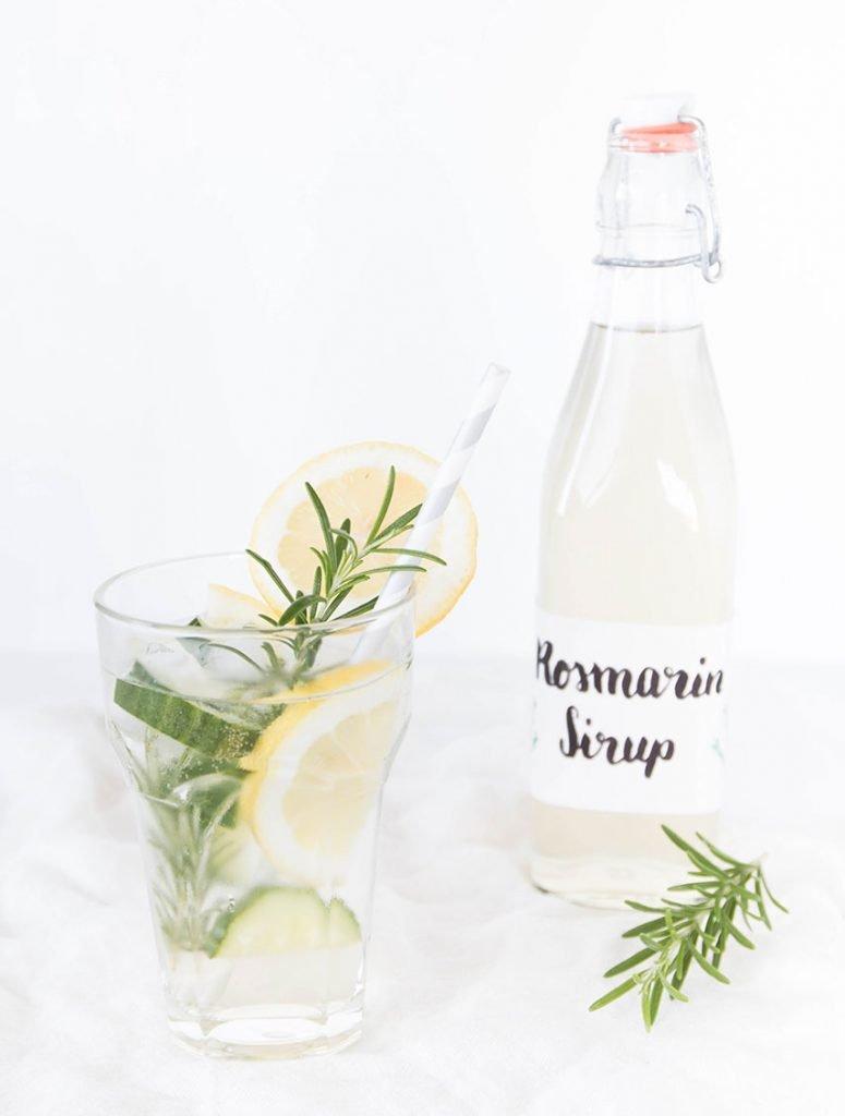 Rosmarin Limonade selbst machen