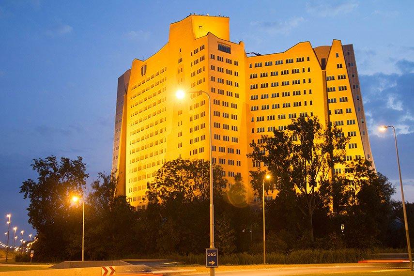 Affenfels in Groningen Gasunie Gebäude