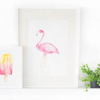 Gratis Flamingo Printable