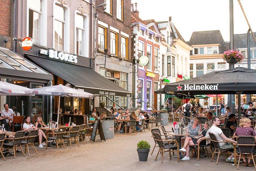 Kneipenviertel in Groningen