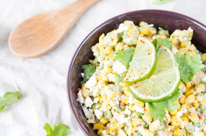 Mexikanischer Maissalat vom Grill