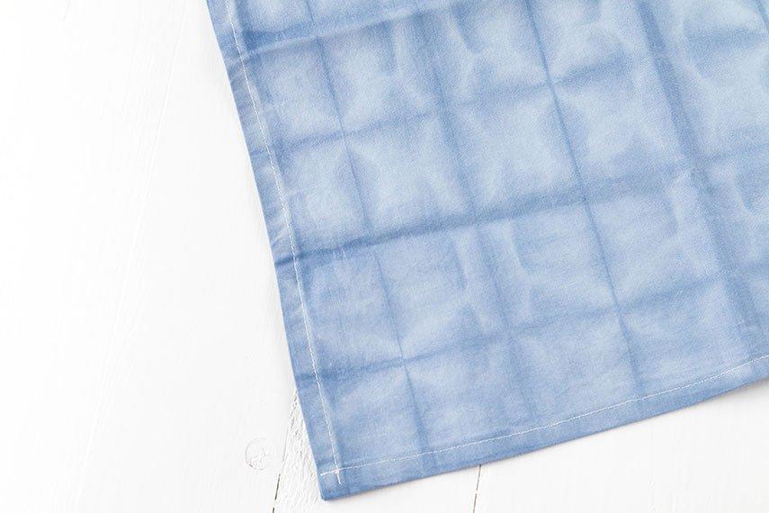 Shibori Serviette DIY ganz einfach selbst nähen